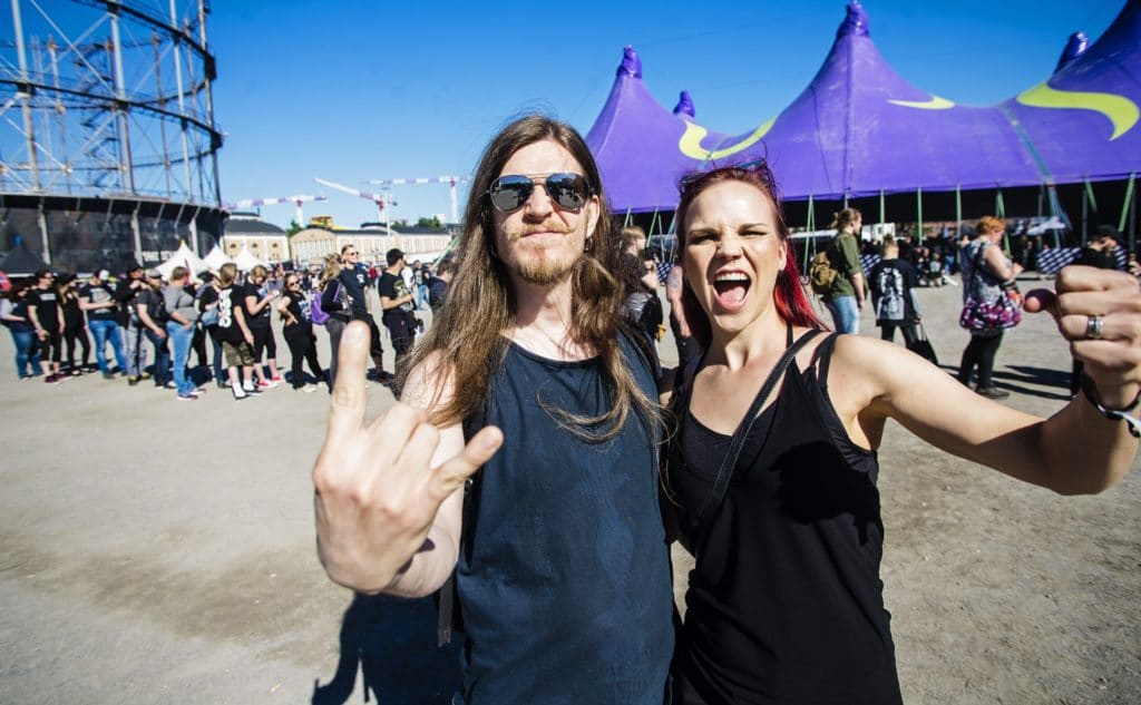Photos from the Tuska Open Air 2018 festival